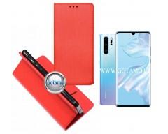 Re-Grid magnetinis dėklas Huawei P30 Pro telefonams raudonos spalvos