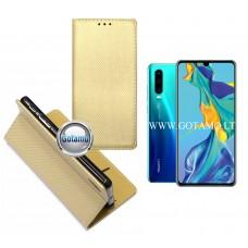 Re-Grid magnetinis dėklas Huawei P30 telefonams aukso spalvos Klaipėda | Klaipėda | Kaunas