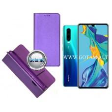 Re-Grid magnetinis dėklas Huawei P30 telefonams violetinės spalvos Telšiai | Kaunas | Plungė