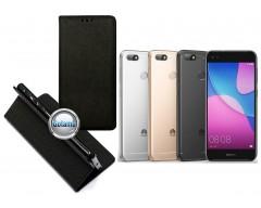 Re-Grid magnetinis dėklas Huawei P9 Lite mini telefonams juodos spalvos