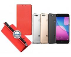 Re-Grid magnetinis dėklas Huawei P9 Lite mini telefonams raudonos spalvos