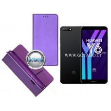 Re-Grid magnetinis dėklas Huawei Y6 (2018) Huawei Honor 7A telefonams violetinės spalvos