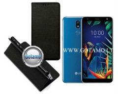 Re-Grid magnetinis dėklas LG K40 telefonams juodos spalvos