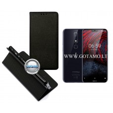 Re-Grid magnetinis dėklas Nokia 6.1 Plus telefonams juodos spalvos Telšiai | Vilnius | Šiauliai