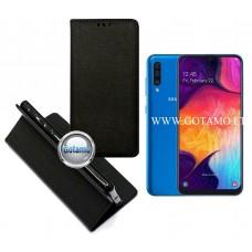 Re-Grid magnetinis dėklas Samsung Galaxy A50 telefonams juodos spalvos