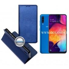 Re-Grid magnetinis dėklas Samsung Galaxy A50 telefonams mėlynos spalvos Klaipėda | Plungė | Vilnius
