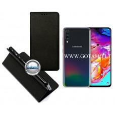 Re-Grid magnetinis dėklas Samsung Galaxy A70 telefonams juodos spalvos Telšiai | Vilnius | Telšiai