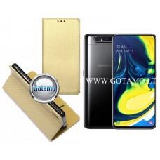 Re-Grid magnetinis dėklas Samsung Galaxy A80 telefonams aukso spalvos Telšiai   Vilnius   Plungė