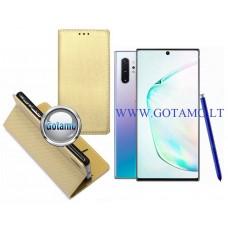 Re-Grid magnetinis dėklas Samsung Galaxy Note 10+ mobiliesiems telefonams aukso spalvos Plungė | Telšiai | Palanga
