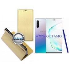 Re-Grid magnetinis dėklas Samsung Galaxy Note 10 telefonams aukso spalvos Klaipėda | Telšiai | Telšiai
