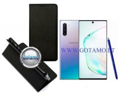 Re-Grid magnetinis dėklas Samsung Galaxy Note 10 telefonams juodos spalvos