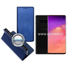 Re-Grid magnetinis dėklas Samsung Galaxy S10 telefonams mėlynos spalvos Šiauliai | Plungė | Plungė
