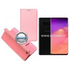 Re-Grid magnetinis dėklas Samsung Galaxy S10 telefonams šviesiai rožinės spalvos Kaunas | Klaipėda | Telšiai