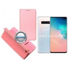 Re-Grid magnetinis dėklas Samsung Galaxy S10+ telefonams šviesiai rožinės spalvos Palanga | Šiauliai | Vilnius