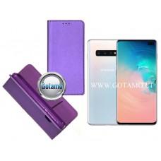 Re-Grid magnetinis dėklas Samsung Galaxy S10+ telefonams violetinės spalvos Kaunas | Telšiai | Klaipėda