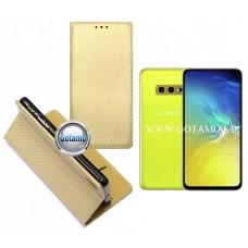 Re-Grid magnetinis dėklas Samsung Galaxy S10e telefonams aukso spalvos Šiauliai | Telšiai | Telšiai