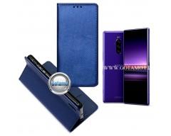 Re-Grid magnetinis dėklas Sony Xperia 1 Sony Xperia XZ4 mobiliesiems telefonams mėlynos spalvos
