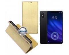 Re-Grid magnetinis dėklas Xiaomi Mi 8, Xiaomi Mi 8 Pro telefonams aukso spalvos