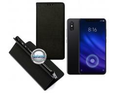 Re-Grid magnetinis dėklas Xiaomi Mi 8, Xiaomi Mi 8 Pro telefonams juodos spalvos