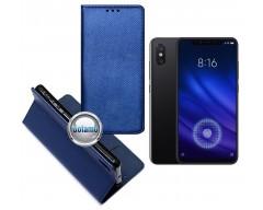 Re-Grid magnetinis dėklas Xiaomi Mi 8, Xiaomi Mi 8 Pro telefonams mėlynos spalvos