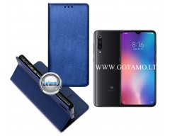 Re-Grid magnetinis dėklas Xiaomi Mi 9 telefonams mėlynos spalvos
