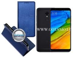 Re-Grid magnetinis dėklas Xiaomi Redmi 5 Plus telefonams mėlynos spalvos