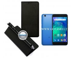 Re-Grid magnetinis dėklas Xiaomi Redmi Go telefonams juodos spalvos