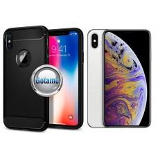 Siege dėklas nugarėlė Apple iPhone Xs Max mobiliesiems telefonams juodos spalvos Plungė | Kaunas | Telšiai
