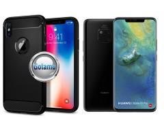 Siege dėklas nugarėlė Huawei Mate 20 Pro mobiliesiems telefonams juodos spalvos