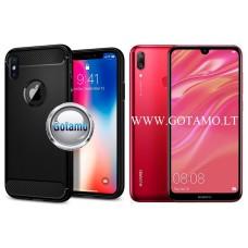 Siege dėklas nugarėlė Huawei Y7 (2019) mobiliesiems telefonams juodos spalvos Kaunas | Vilnius | Šiauliai
