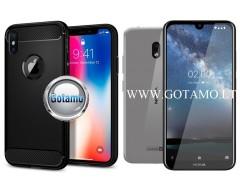 Siege dėklas nugarėlė Nokia 2.2 mobiliesiems telefonams juodos spalvos