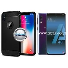 Siege dėklas nugarėlė Samsung Galaxy A40 mobiliesiems telefonams juodos spalvos Telšiai | Telšiai | Vilnius