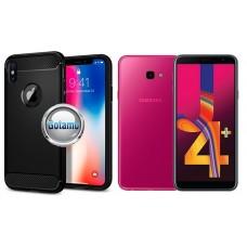 Siege dėklas nugarėlė Samsung Galaxy J4+ (2018) mobiliesiems telefonams juodos spalvos Plungė | Kaunas | Plungė