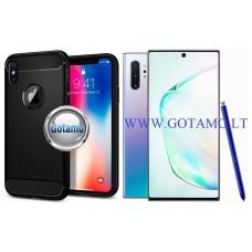 Siege dėklas nugarėlė Samsung Galaxy Note 10+ mobiliesiems telefonams juodos spalvos Šiauliai | Vilnius | Telšiai