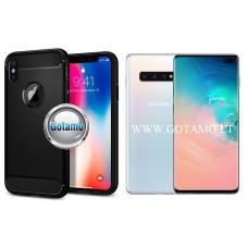 Siege dėklas nugarėlė Samsung Galaxy S10+ mobiliesiems telefonams juodos spalvos Kaunas | Plungė | Kaunas