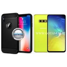 Siege dėklas nugarėlė Samsung Galaxy S10e mobiliesiems telefonams juodos spalvos Klaipėda | Kaunas | Šiauliai