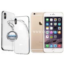 Skin silikoninis dėklas 2MM storio Apple iPhone 6 Plus 6s Plus telefonams