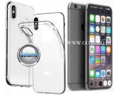 Skin silikoninis dėklas 2MM storio Apple iPhone 7 8 SE (2020) telefonams