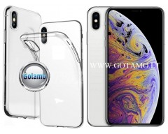 Skin silikoninis dėklas 2MM storio Apple iPhone Xs Max telefonams