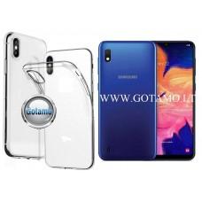 Skin silikoninis dėklas 2MM storio Samsung Galaxy A10 Samsung Galaxy M10 telefonams Telšiai | Telšiai | Vilnius