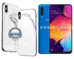 Skin silikoninis dėklas 2MM storio Samsung Galaxy A50 telefonams