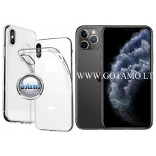 Skin silikoninis dėklas Apple iPhone 11 Pro telefonui