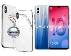 Skin silikoninis dėklas Huawei Honor 10 Lite mobiliesiems telefonams