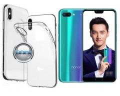 Skin silikoninis dėklas Huawei Honor 10 telefonams
