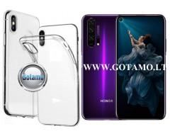 Skin silikoninis dėklas Huawei Honor 20 Pro telefonams