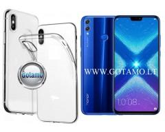 Skin silikoninis dėklas Huawei Honor 8X telefonams