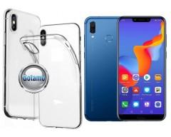 Skin silikoninis dėklas Huawei Honor Play telefonams