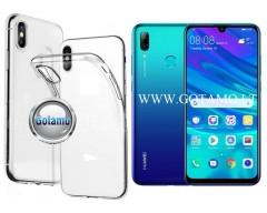 Skin silikoninis dėklas Huawei P Smart (2019) telefonams