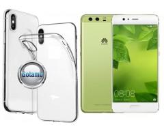Skin silikoninis dėklas Huawei P10 Plus telefonams