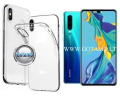 Skin silikoninis dėklas Huawei P30 telefonams